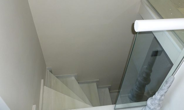 Staircase to Basement Installation, Sierra Blanca