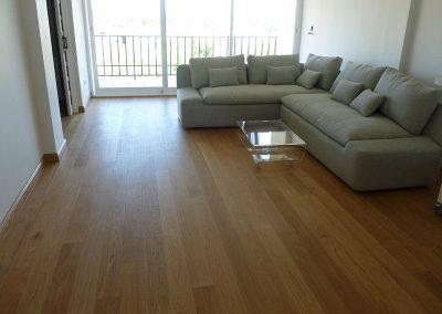 after parque flooring