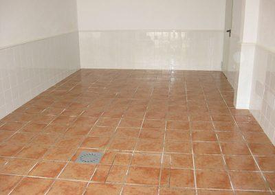 after tiling