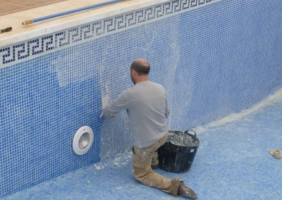 regrouting pool